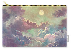 White Moon Rising Carry-all Pouch