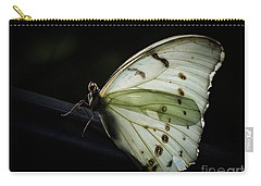 White Morpho In The Moonlight Carry-all Pouch