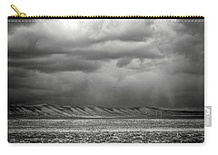 Carry-all Pouch featuring the photograph White Mountain by Lou Novick