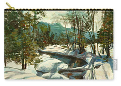 White Mountain Winter Creek Carry-all Pouch