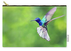 White Necked Jacobin Hummingbird Carry-all Pouch