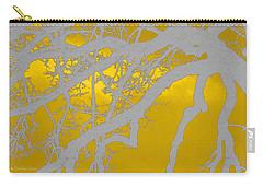 White Oak -yellow Orange Carry-all Pouch
