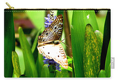 White Peacock Butterfly Painting  Carry-all Pouch