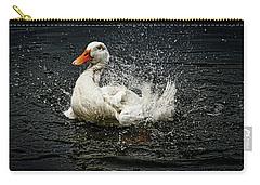 White Pekin Duck Carry-all Pouch