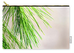 Carry-all Pouch featuring the photograph White Pine Branch by Christina Rollo