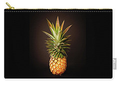 White Pineapple King Carry-all Pouch