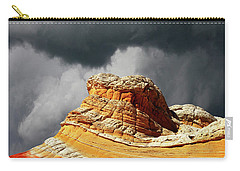 Carry-all Pouch featuring the photograph White Pocket 35 by Bob Christopher