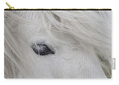 White Pony Carry-all Pouch