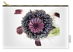 Carry-all Pouch featuring the photograph White Poppy by Stephanie Moore