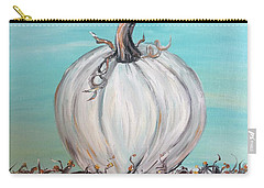 White Pumpkin Carry-all Pouch