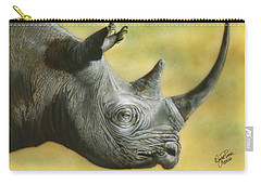 White Rhino Carry-all Pouch