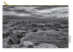 White Rim Overlook Monochrome Carry-all Pouch
