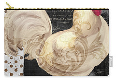 White Rooster Cafe I Carry-all Pouch by Mindy Sommers