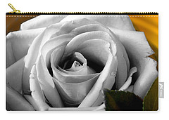 White Rose 2 Carry-all Pouch