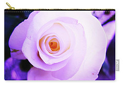 White Rose Carry-all Pouch by Mary Ellen Frazee
