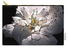 White Rose Of Sharon Carry-all Pouch