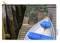 White Rowboat Carry-all Pouch by Diane Diederich