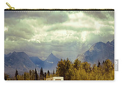 White Rv In Montana Carry-all Pouch by Jill Battaglia