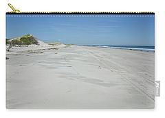 White Sandy Beach Carry-all Pouch
