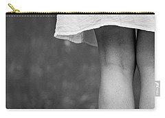Carry-all Pouch featuring the photograph White Shirt by Andrey  Godyaykin
