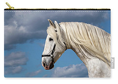 White Stallion Carry-all Pouch