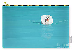 White Swan Blue Lake Carry-all Pouch