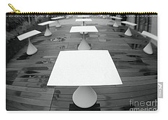 White Tables Carry-all Pouch