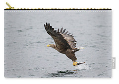 White-tailed Eagle Catching Dinner Carry-all Pouch