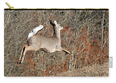 White-tailed Take Off Carry-all Pouch