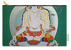 White Tara Carry-all Pouch by Sergey Noskov
