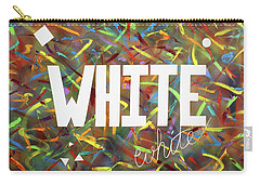 White Carry-all Pouch by Thomas Blood