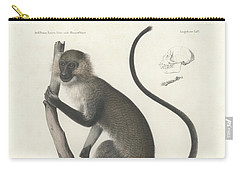 White Throated Guenon, Cercopithecus Albogularis Erythrarchus Carry-all Pouch
