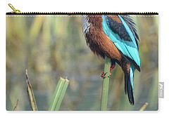 White-throated Kingfisher 13 Carry-all Pouch