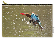 White-throated Kingfisher Carry-all Pouch