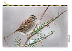 White Throated Sparrow Carry-all Pouch