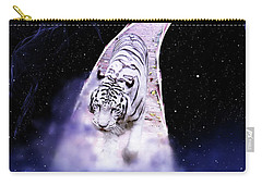 White Tiger Fantasy Carry-all Pouch