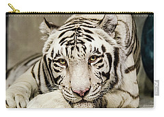 White Tiger Looking At You Carry-all Pouch