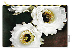 White Torch Blooms Carry-all Pouch