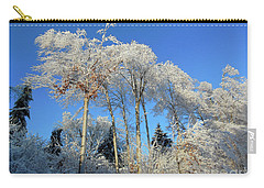White Trees Clear Skies Carry-all Pouch
