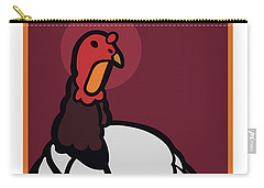 Ghost Turkey Carry-all Pouch