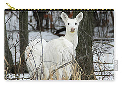 White Visitor Carry-all Pouch by Brook Burling