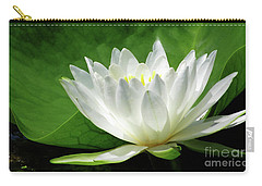 White Water Lily Blooms Carry-all Pouch