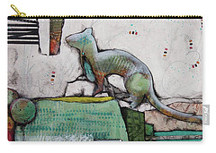 White Weasel  Carry-all Pouch