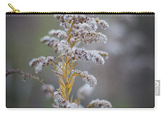White Weeds In Winter, Oak Grove Park, Grapevine, Texas Carry-all Pouch