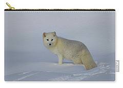 White Wilderness Carry-all Pouch by Steve McKinzie