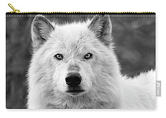 White Wolf Encounter Carry-all Pouch