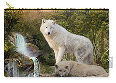 White Wolf Falls2 Carry-all Pouch