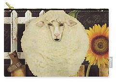 White Wool Farms Carry-all Pouch by Mindy Sommers