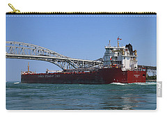 Whitefish Bay And Blue Water Bridge 2 Carry-all Pouch