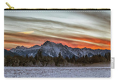 Whitehorse Sunset Panorama Carry-all Pouch
